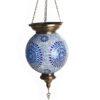 Подвесные металл + мозаичное стекло E27 1*60W