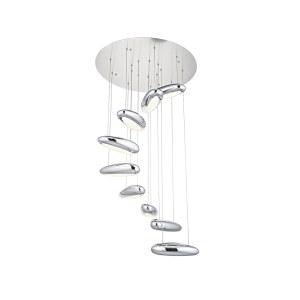 5620-9A Подвесной светильник ЭГО хром d70 h150 Led 72W (4000K)