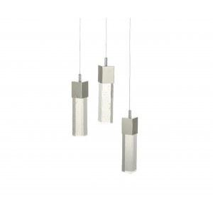 Подвесные металл + стекло Led 15W (4000K)