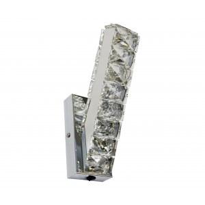 Бра металл + хрусталь LED 16W (3000-6000К)