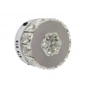 Бра металл + хрусталь Led 12W (3000-6000K)