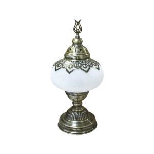 Настольные лампы металл + стекло E14 1*40w