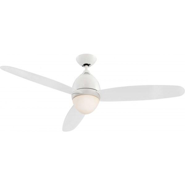 Люстра-вентилятор Globo 0300, белый, E27, 2x40W
