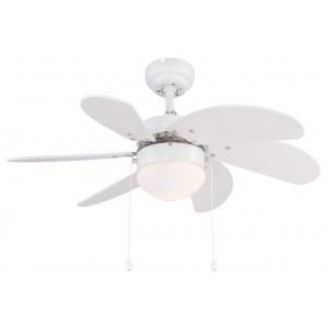 Люстра-вентилятор Globo Rivaldo 03302 купить с доставкой по всей России в интернет магазине СВЕТ-ОНЛАЙН.РУ