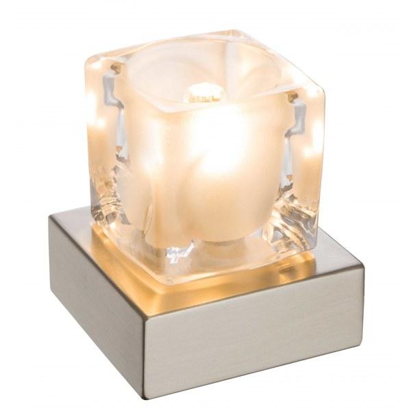 Настольная лампа Globo Nubuk 21980L, G9 LED, 1x3W